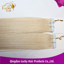 European Hair Extension/double sided tape hair extensions/PU Hair Wholesale