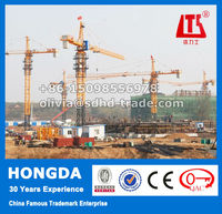 China 10 Ton Hydraulic Self Erecting Tower Crane ISO9001&CE Approved