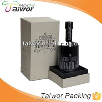 elegant Design cardboard wine packaging box with window