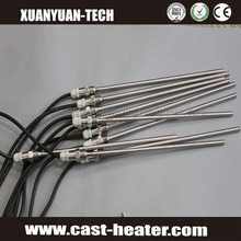CE Customized Cartridge Heaters With Armor Cable