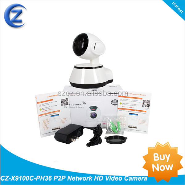 CZ-X9100C-PH36 P2P Network HD Video Camera