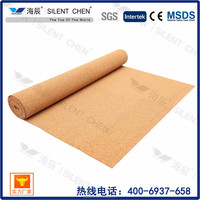 China manufacturer cork roll underlay for Brazil market