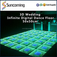 RGB Wedding Disco Decoration 50 x 50cm Make Ali Full Sexy Video Dance Floor LED