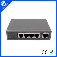 24V 5 ports 10/100/1000Mbps POE Switch gigabit Ethernet Switch