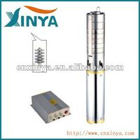 XINYA 4inch 48V stainless steel impeller solar cell powered water pump system (4SPSC5.5/58-D48/750)
