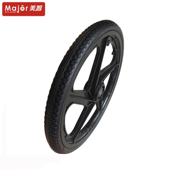 Bicycle Non-pneumatic Flat-free PU Polyurethane Foam Solid Tires Tyres Wheels for bicycle/bike Customize Manufacturer