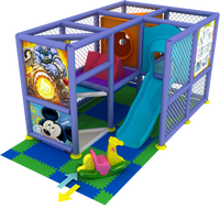 Cheap small soft play used indoor playground equipment for kids