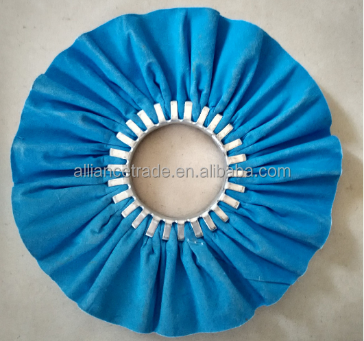 Alliance Wholesale alibaba Cloth bias buff for stainless steel cutlery polishing