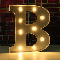 Factory provide 3d illuminated led channel letters marquee letter lightsneon signs for sale