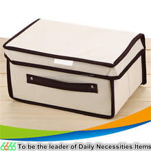 Home organising closet organizer cube fabric storage box non-woven christmas storage box