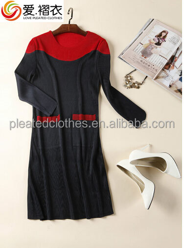 CHEAP second hand pleated women clothes long sleeve lady clothing