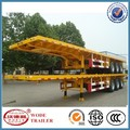 Hot sale flatbed 40ft container carrier semi trailer