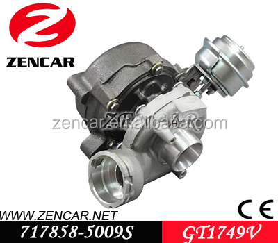 Garrett GT1749V (S2) Turbo for Skoda Superb Tdi Turbocharger 038145702N 038145702J