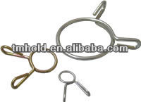 good quality single wire bending clips fasteners for auto