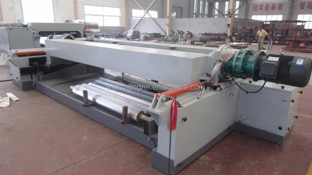 8 feet wood log rounding peeling machine