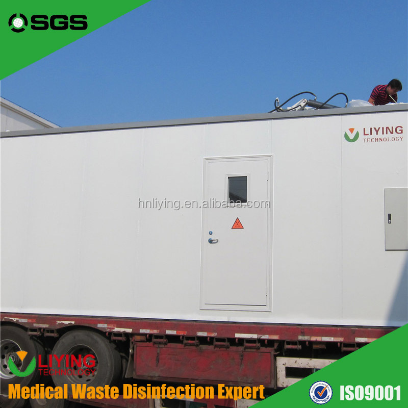 Pollution Free Medical Waste Disposal Plant Without Dioxins