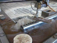 Stainless pipe cut water jet, nozzle water jet cutting, water jet cutter