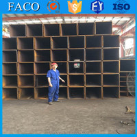 Tianjin square rectangular pipe ! square tube 40 * 40 promotion cement lined steel pipe welded
