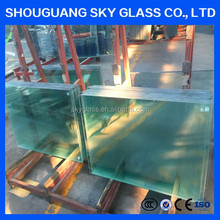 4-6mm Clear Tempered Glass Price With Polished Edge