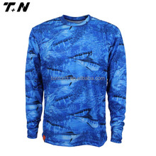 Custom Sublimated Fishing Jersey Sublimation Fishing Shirts Wholesale