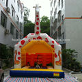 White giraffe inflatable bouncy castle for sale