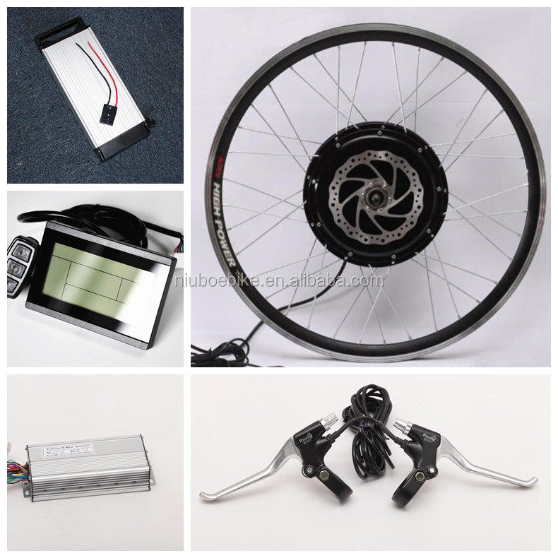 Brushless Motor 48v 1000w 1500w e bike Electric Bicycle Conversion Kit