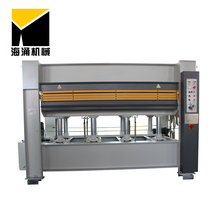 Vacuum plywood hot press machine for furniture making