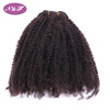 YF Afro Kinky Curly Malaysian Hair Weave Bundles Remy Human Hair Extensions Natural Color Fast Shipping