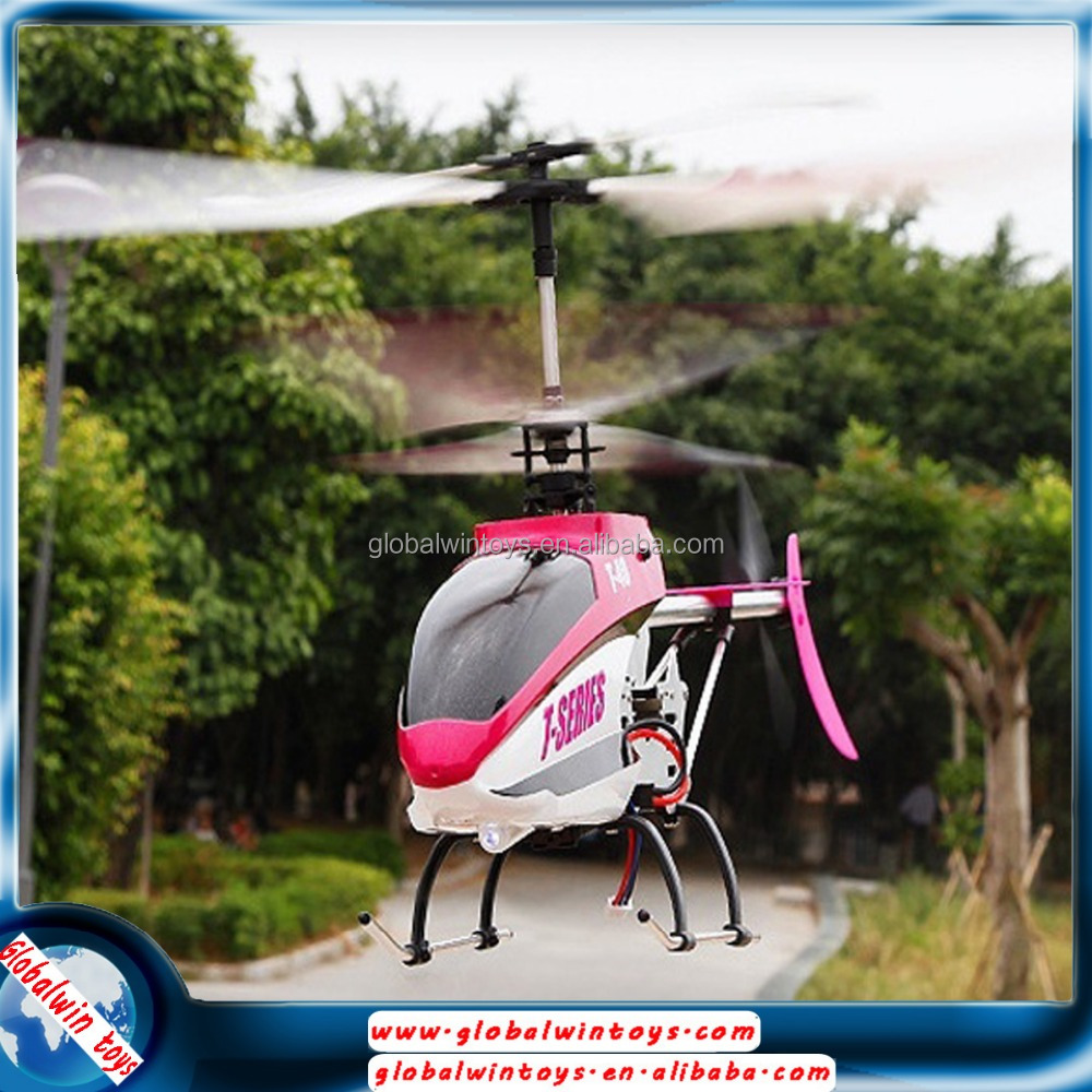 Durable king model alloy fuselage big copter with MEMS gyro servo control system RTF plane 2.4GHz 3CH volitation rc helicopter