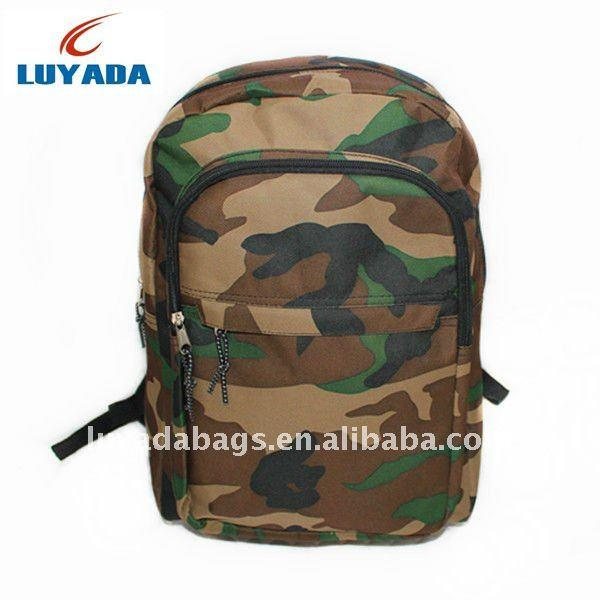 2015 Camouflage Teens Funny Backpacks School,Army Back Pack