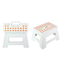 High quality colorful plastic fold step shower stool