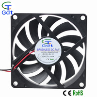 GDT 80mm 80*10mm DC Cooling Fan Distributor 5V 12V 24V High Air Flow DC Fan