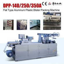 Pharmaceutical machinery price chocolate flat plate blister packing machine