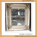 Wooden Framed Bevelled Mirror