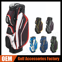 Wholesale Golf Bag Customized OEM PU/PVC/ Oxford Cheap Golf Cart Bag Manufacturer