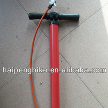 cheap bicycle parts and accessories red color used for bicycle hand air pump