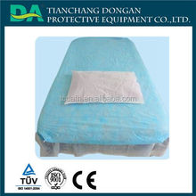 Medical products hospital daily use disposable bed sheet/bed covers CPE bed cover