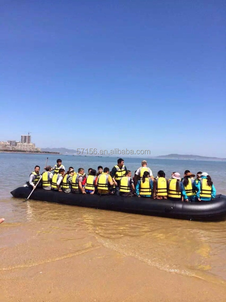High Quality Refugee Boat, Inflatable Pontoons, Rescue Boat on sale