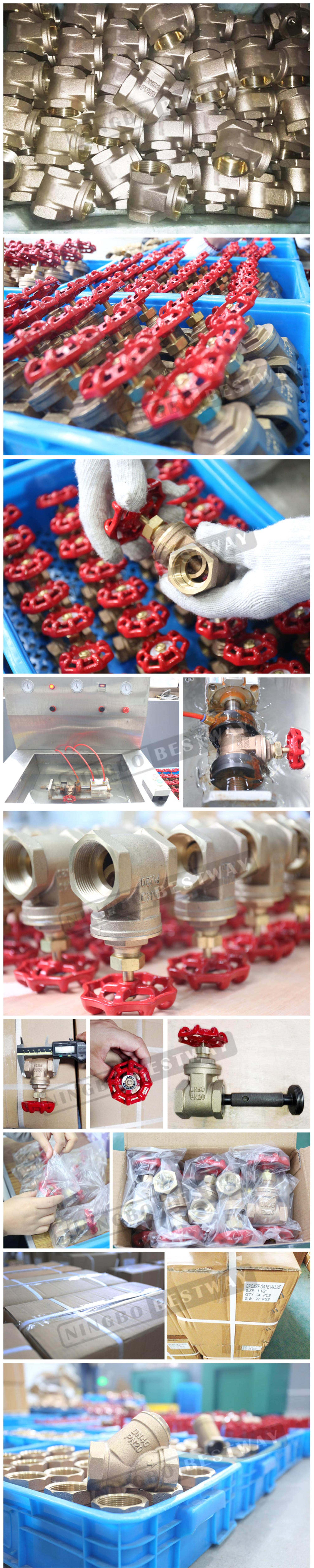 BWVA Over 10 years of professional experience reliable bronze valve