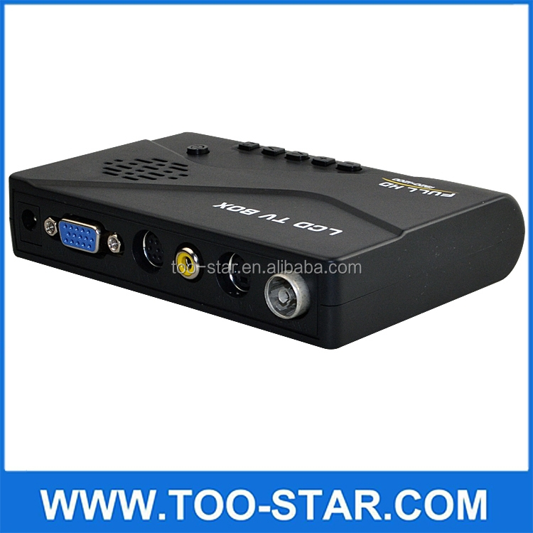 D LCD Digital TV Box / TV Tuner Receiver for PC LCD and CRT monitor, Digital DVBT computer TV Program Receiver