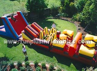 2015 Inflatable wipeout for sale , Inflatable climbing park, Outdoor Sport Inflatable Obstacle Course F5019
