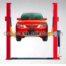 3.7T cable lifting auto car hydraulic lift two post hoist DTPF608E