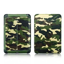 Camouflage stander Leather case Manufacturers wallet cell phone case cover for Ipad mini 4 plus with Sleeping function