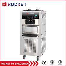 Widely Using Nitrogen 2 +1 mix flavors Soft Ice Cream Machine R506 For Sale