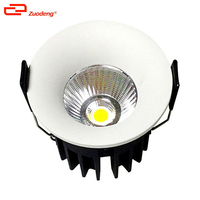 Australia standard recessed 3 inch cutout up cob led downlights