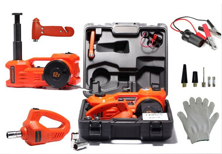 high quality 12v impact wrench and electric car jack