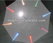 High Quanlity Straight led color changing umbrella