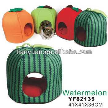 Fruits shaped dog house