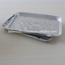 Aluminium Foil BBQ Grill serving tray for food use seasonality made in china