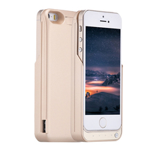 Newest Power bank 4200mAh plastic battery case For iPhone 5 5S 5C , Portable power case charger for iphone 5 5S 5C